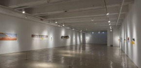 """Taking the Tension out of the Fibers: Review of Richard Tuttle """"Both/And Print andCloth"""""""